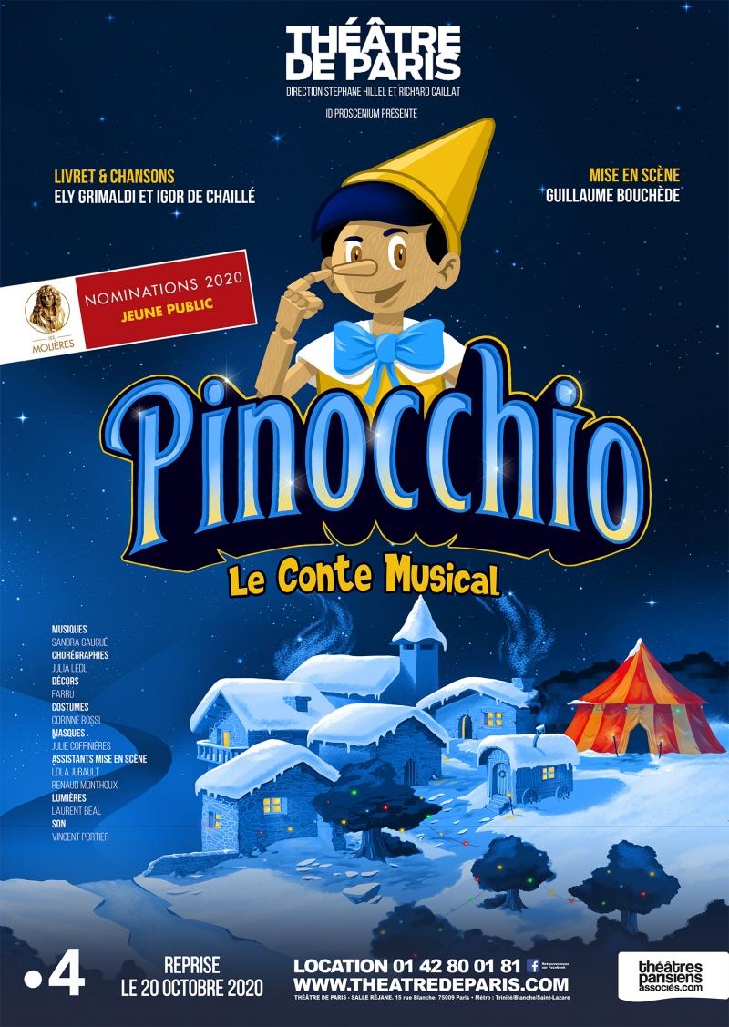 Pinocchio le conte musical